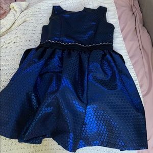 Black and Blue Iris and Ivy dress